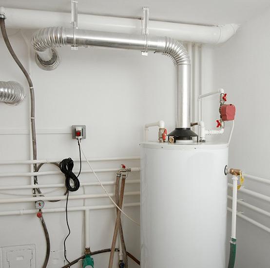 Пример выполненного монтажа отопления