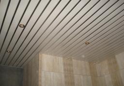 Примеры реечных потолков