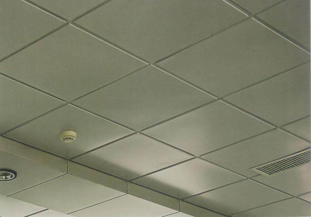 Пример кассетного потолка от Alved