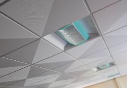 Фотогалерея кассетных потолков