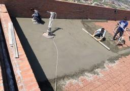 Выполнен ремонт плоской кровли здания