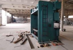 Проведена разгрузка и установка крупногабаритного оборудования