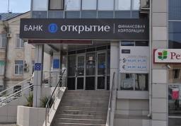 Кассовая комната в отделении банка «Открытие» по адресу г. Краснодар