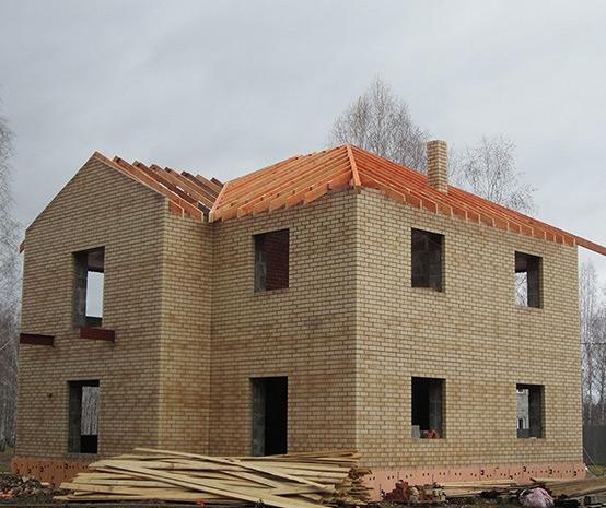 Этап работы малоэтажного строительства
